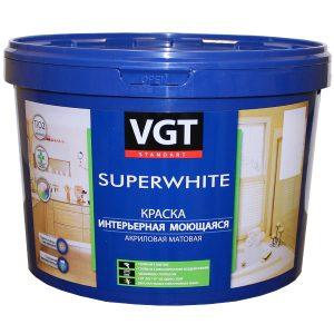 VGT Стандарт краска интерьерная моющаяся