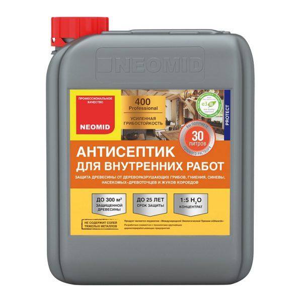Антисептик для внутренних работ 30 литров купить Neomid