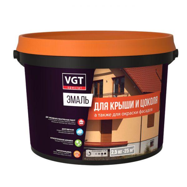 VGT эмаль для крыши и цоколя